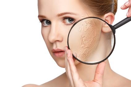 Frischekosmetik für trockene Haut