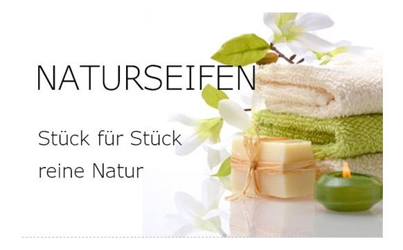 Naturseifen - Stück für Stück reine Natur