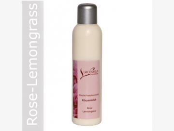 Körpermilch Rose/Lemongrass